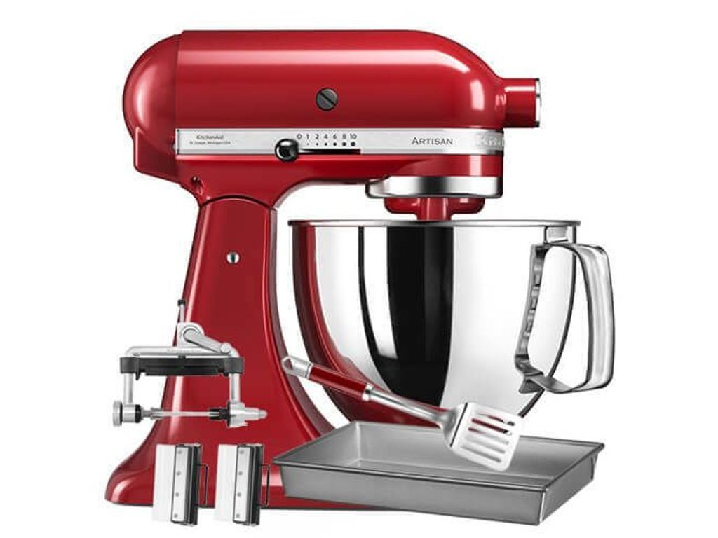 Kitchenaid Artisan Empire Red Food Mixer Star Baker Bundle Kitchenaid Artisan Kitchen Aid Red Food
