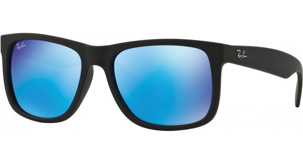 ray ban zwart blauw