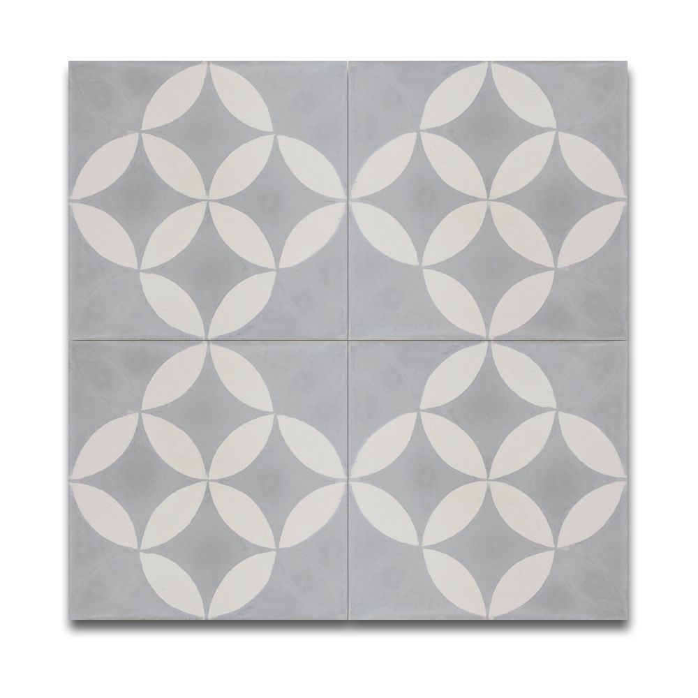 Mosaic Pack Of 12 Amlo And White Handmade Granite Moroccan 8 X Floor Wall Tile