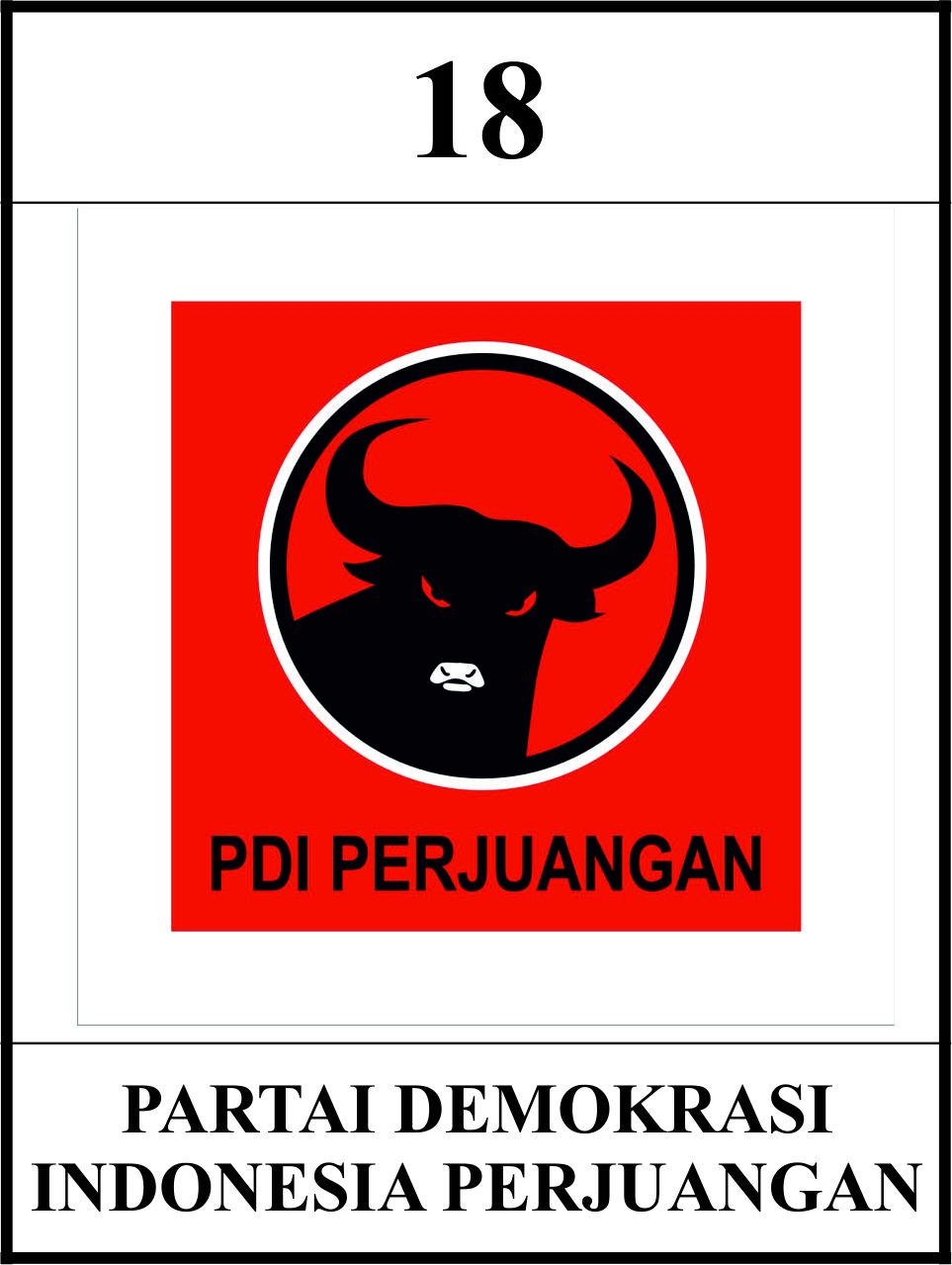 partai demokrasi indonesia perjuangan pdip pejuang indonesia pinterest