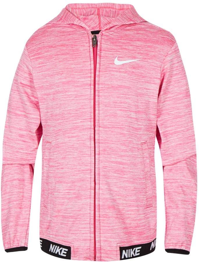 Girls 4 6x Nike DriFIT Athletic Hoodie