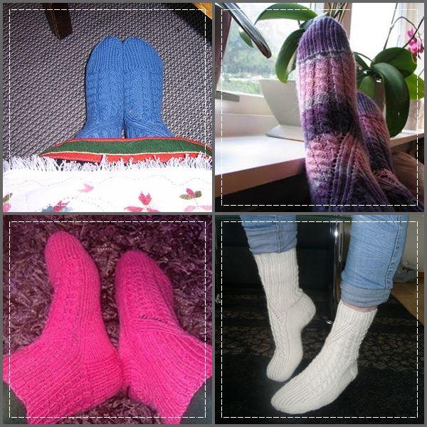 Meisebo: mysteriesokk2011  Mystery sock 2011. Pattern on Ravelry. My own socks down to the right.