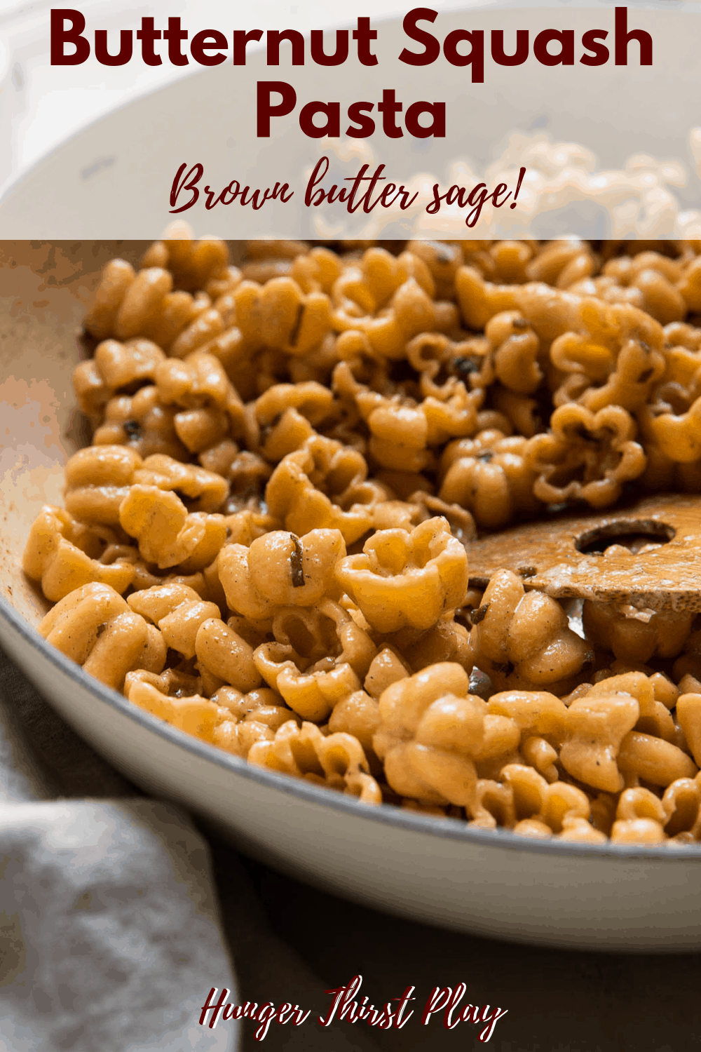 Butternut Squash Pasta With Brown Butter Sage Recipe Butternut Squash Pasta Squash Pasta Sage Recipes