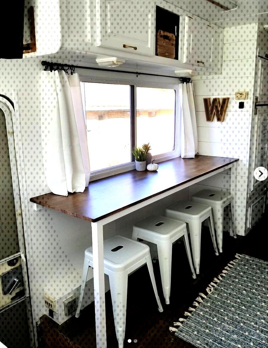 20 Inspiring RV makeovers and renovations, and a peek at our RV camper trailer before we renovate..