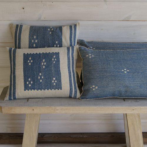Susie Gillespie - cushions-4-blue