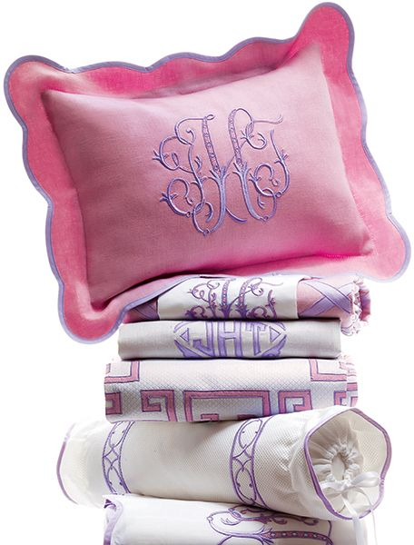 Leotine Linens | Pink and Lavender | Leotine Linens Fantasy Gift for Neiman Marcus -- Ellee's big girl room