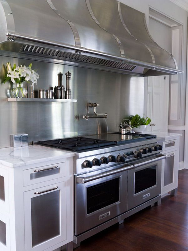 Awesome Hood Vent. Modern Commercial Kitchen Hoods Design