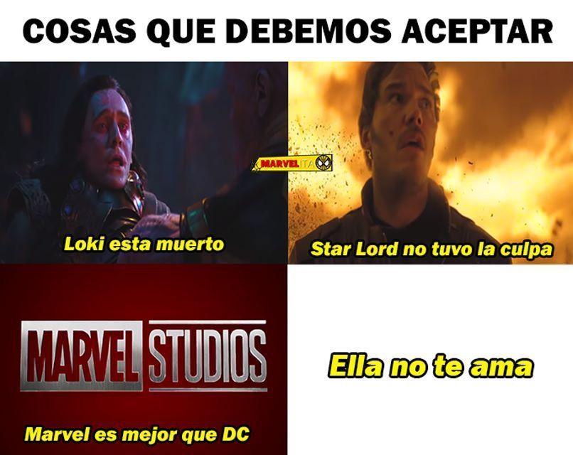 memes de Infinity War – Me sigue doliendo