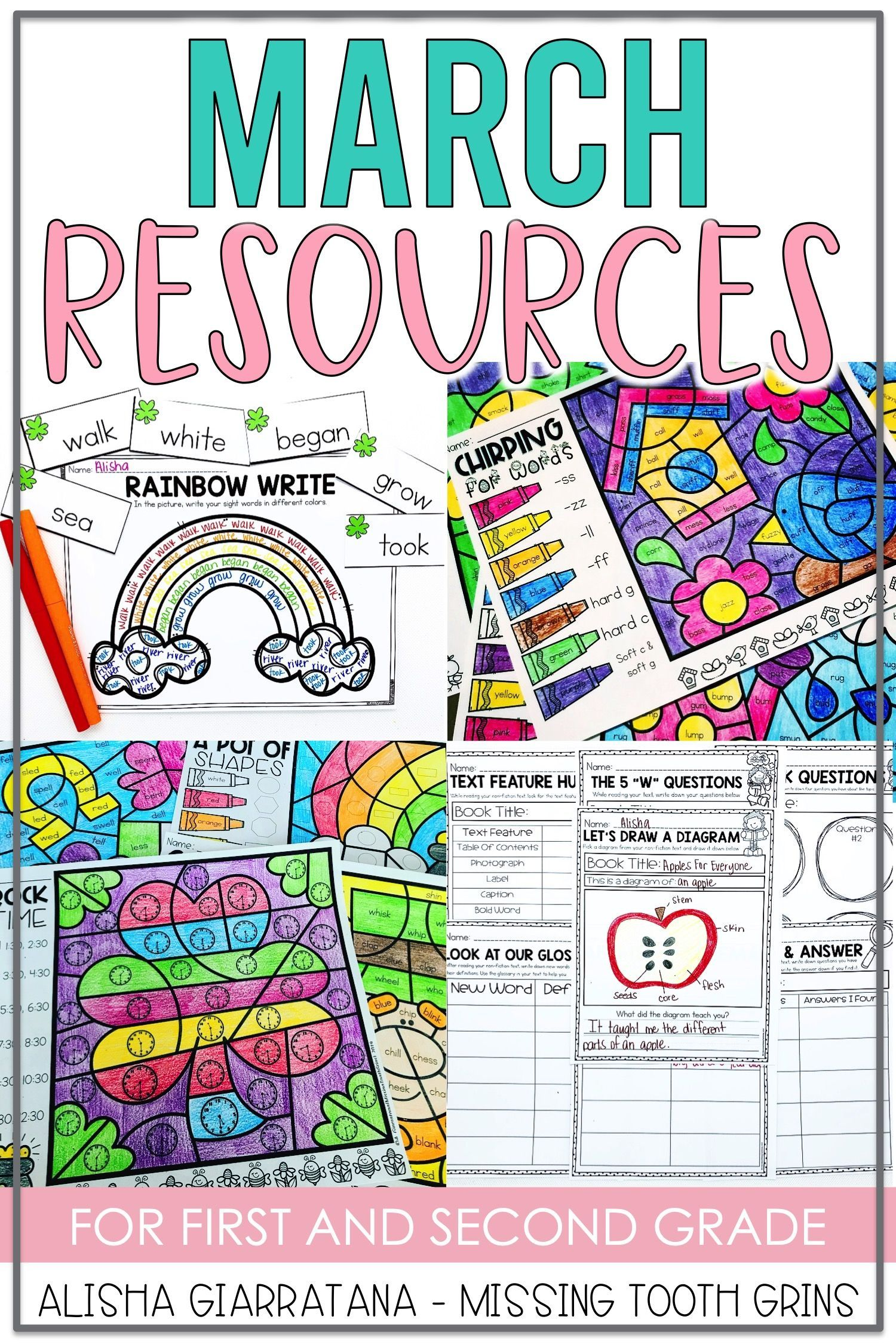 March Resources For 1st Grade Teachers