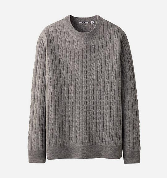 The Winter Home Essentials You Need In 2020 Sweaters Uniqlo Cable Sweater