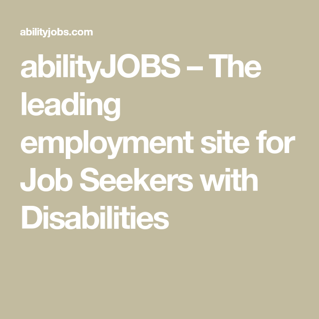 The Leading Employment Site For Job Seekers