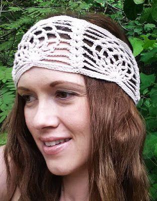 365 Crochet: Bohemian Pineapple Headband -free crochet pattern ...