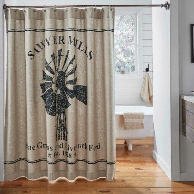 Sawyer Mills Farmhouse Shower Curtain