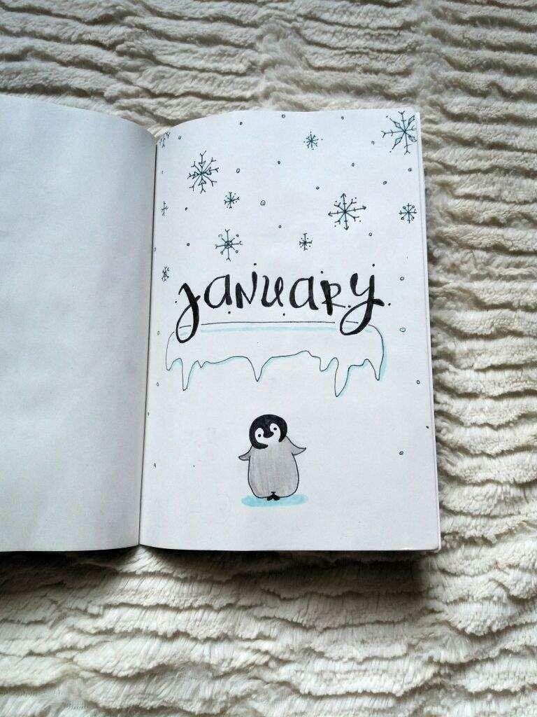 January : Cute baby penguins