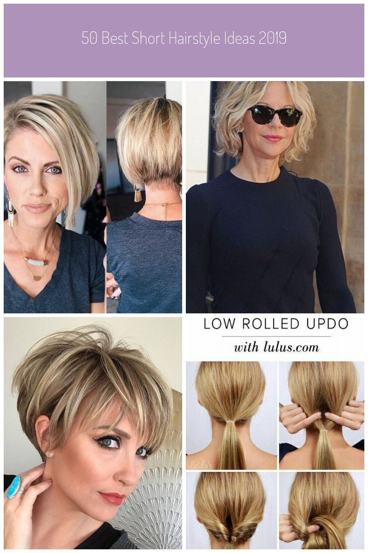 50 Best Short Hairstyle Ideas 2019 Hairstyle Hairstyles Ideas Short Shorthairstyle Frisuren Kurzhaar 50 Short Hair Styles Womens Hairstyles Hair Styles