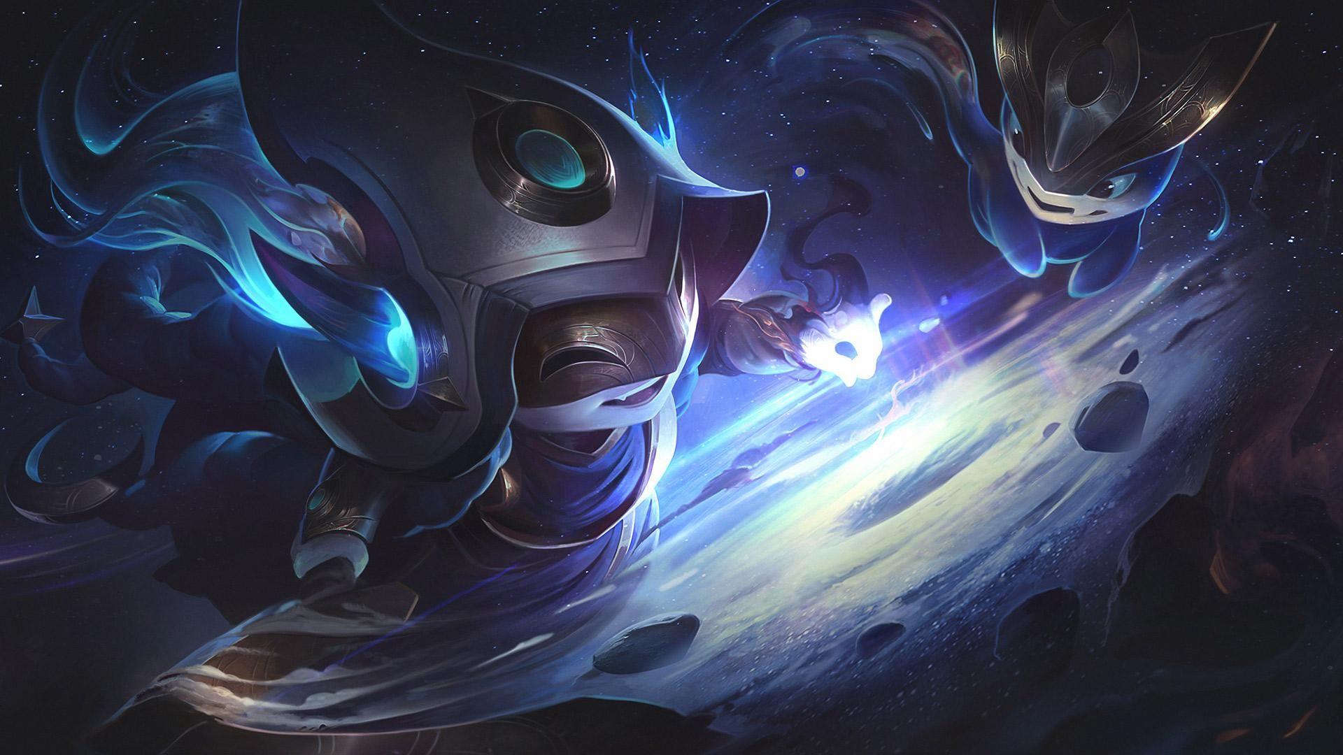 Cosmic Enchantress Lulu League Of Legends Art In 2019 League Of