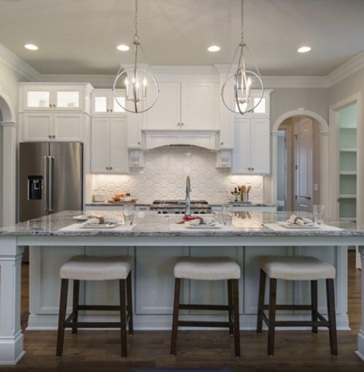 Capital Lighting Orb Style Pendants Above Island Lighting Over Island Kitchen Lighting Interior Design