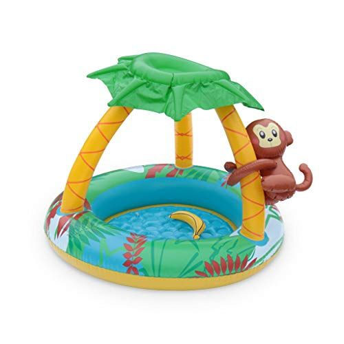 Alice S Garden Pataugeoire Gonflable Jungle Piscine Pour Bebe