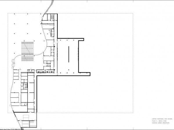 Henning Larsen Arquitetos |  Escola Vocacional Jåttå