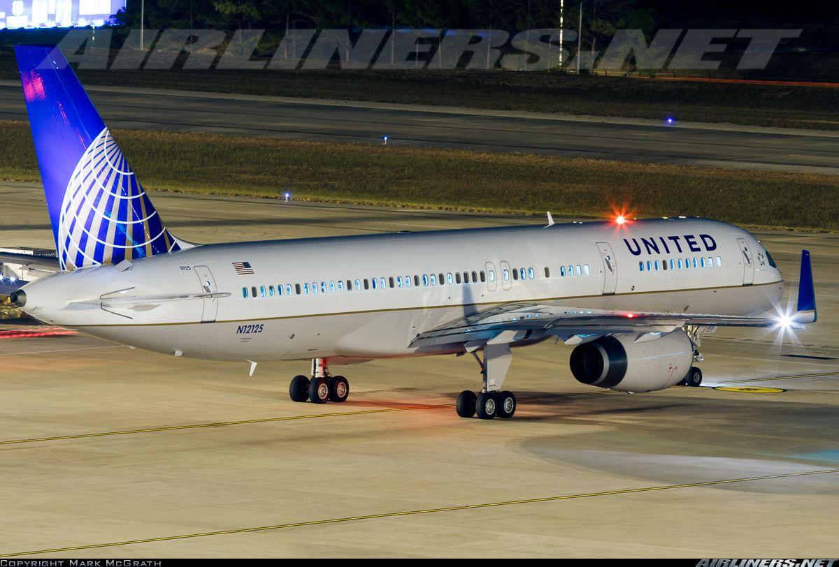 United B757-200 IAH-DEN