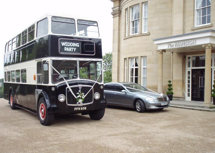 Vintage Double Decker Bus Hire Alt To Wedding Limo Themarriedapp Hearted