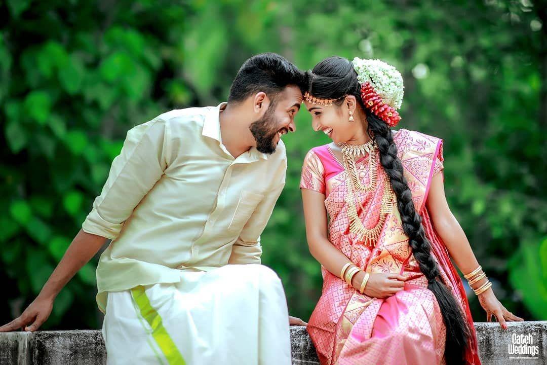 Adorable South Indian Couple Portrait Shaadiwish Indian Wedding Couple Indian Wedding Couple Photography Wedding Couple Poses Photography South indian couple hd wallpaper