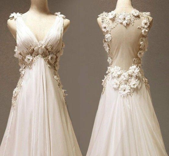 Vestidos boda de noche vintage