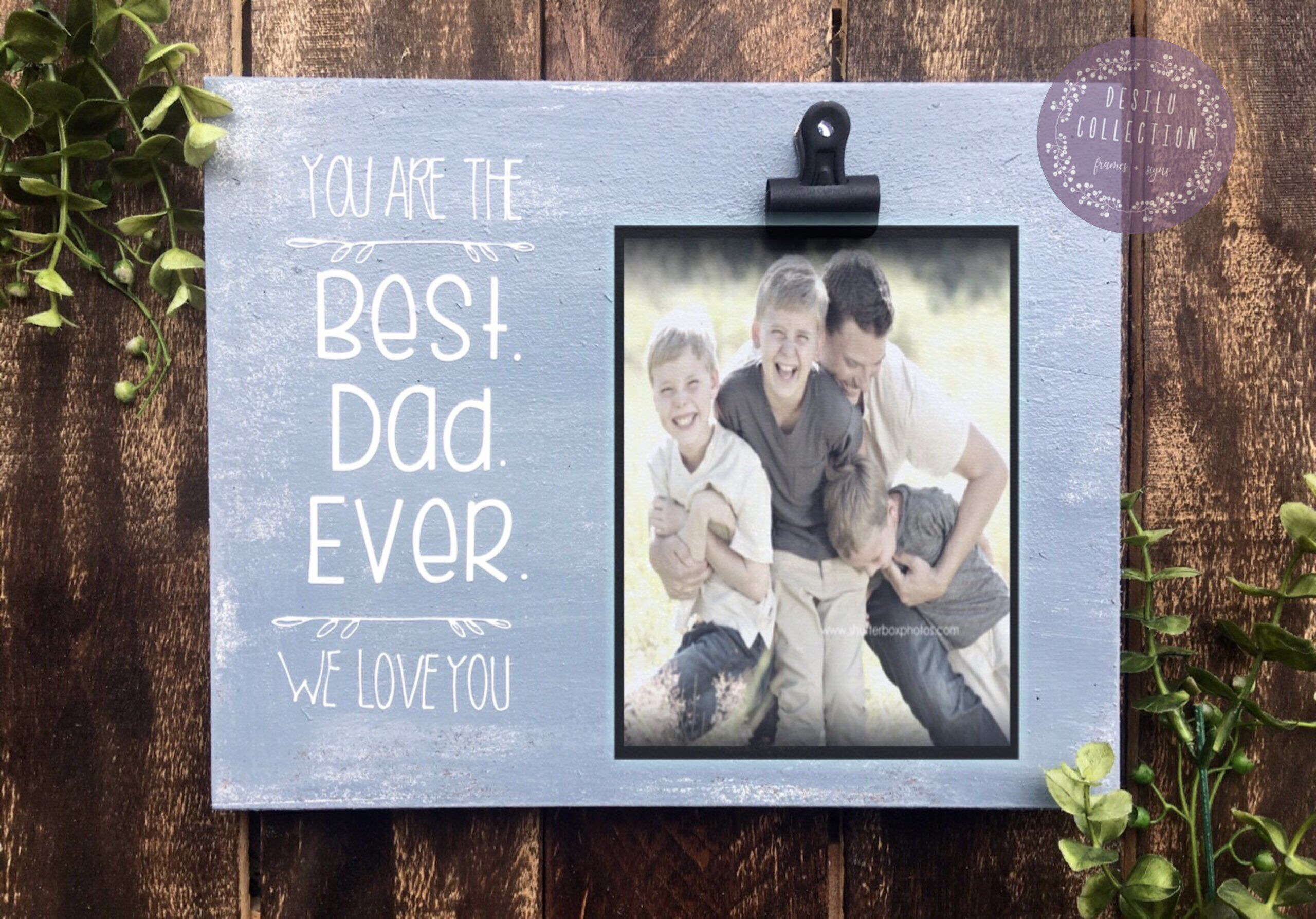 fathers day photo gifts etsy