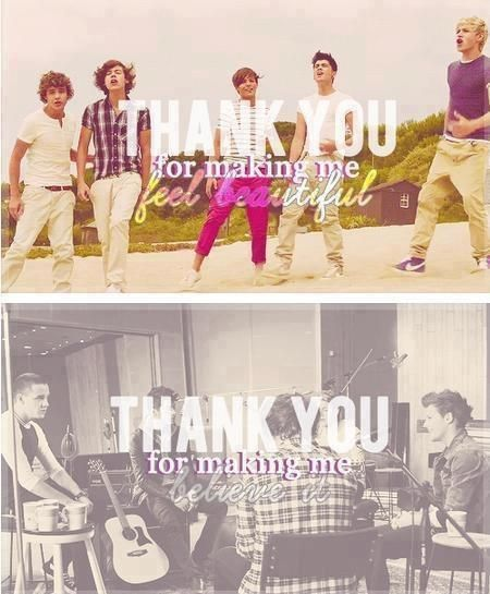 yes, thank you One Direction