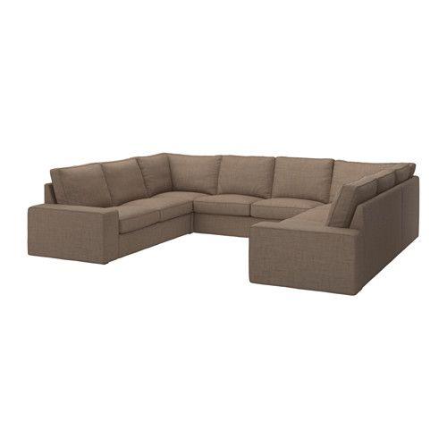 Kivik Sofa U Form 8 Platze Isunda Braun Ikea Furs Haus