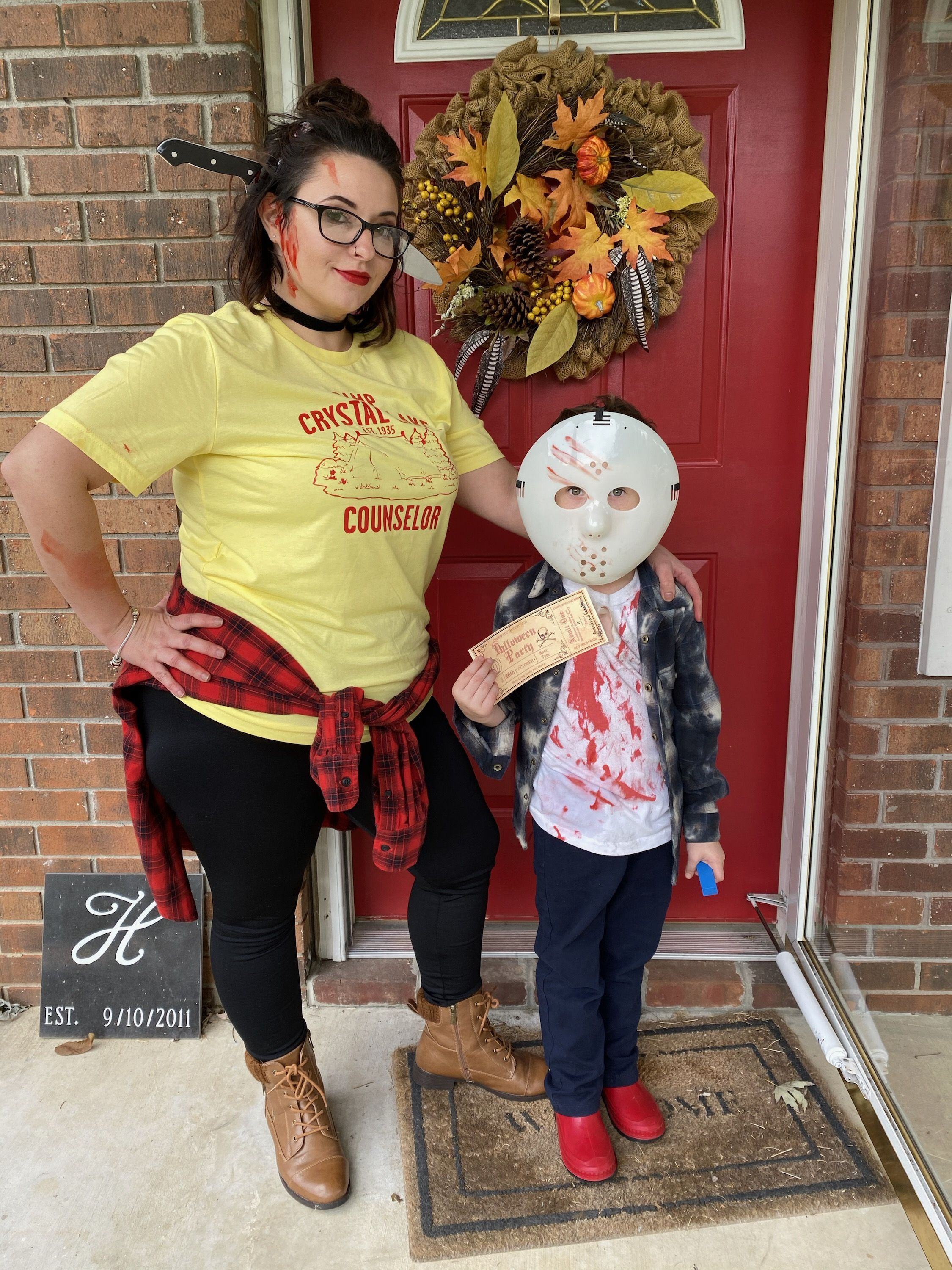 Halloween Events 2020 Crystal Lake Friday the 13th costume | Mother son halloween costumes, Halloween