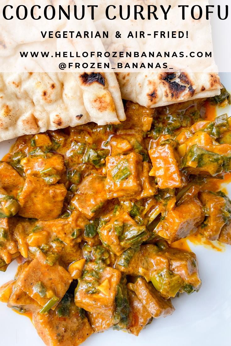 Coconut Curry Tofu Recipe in