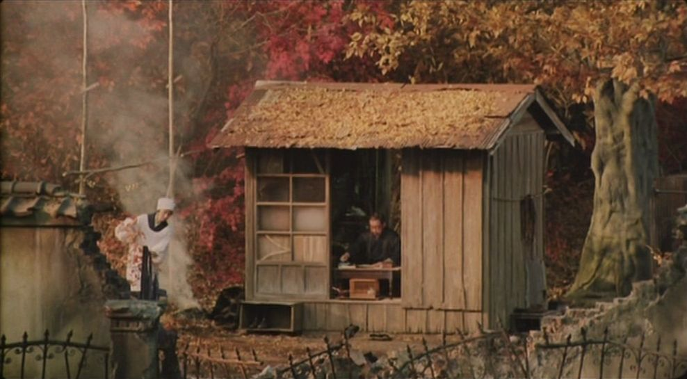 Madadayo filmgrab movie scenes house styles design inspo