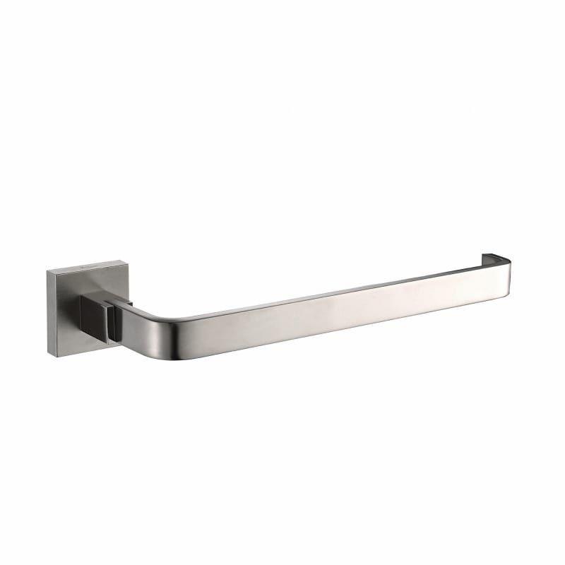 Kraus Kea 14425 Aura 9 Solid Brass Towel Ring Brushed Nickel