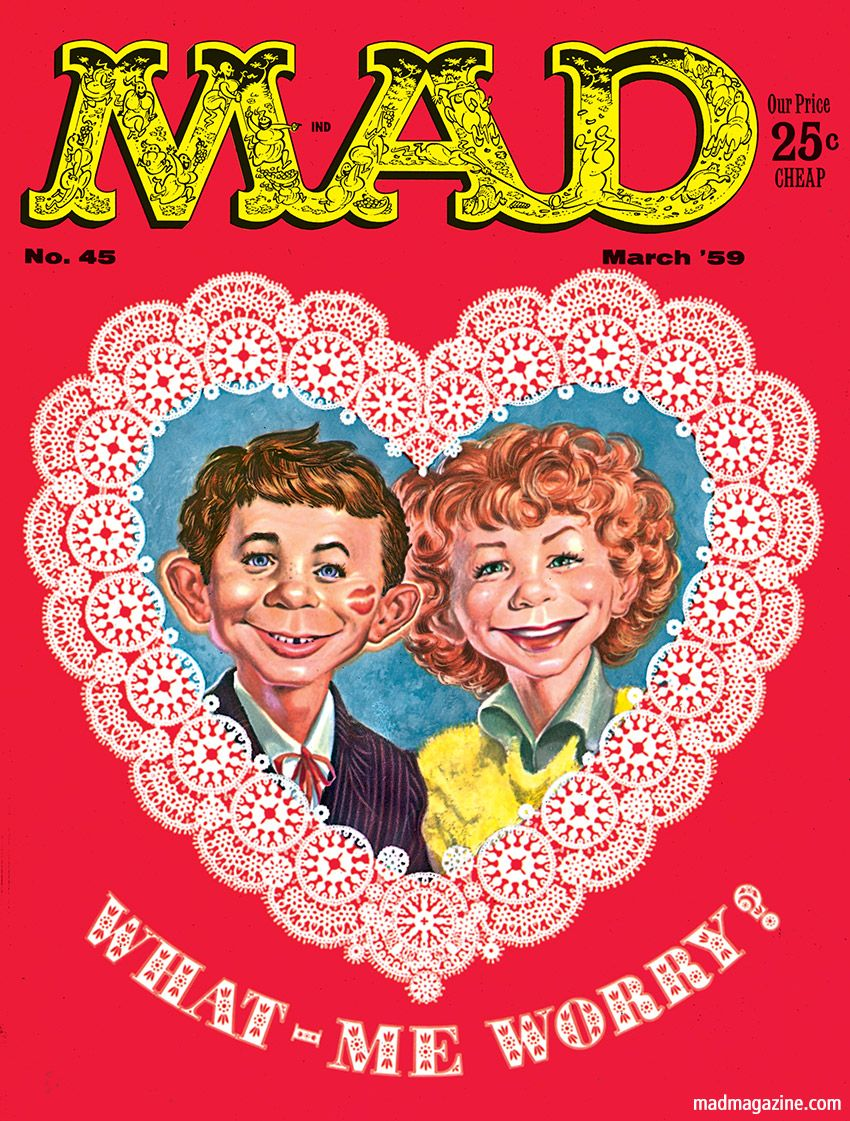 mad magazine had this issue mom threw it and all my others