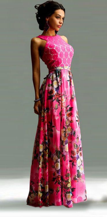 16ed5d85b76 LADIES DESIGNER STYLISH PARTY WEAR WESTERN MAXI DRESS WHATS APP + 91  9638623236