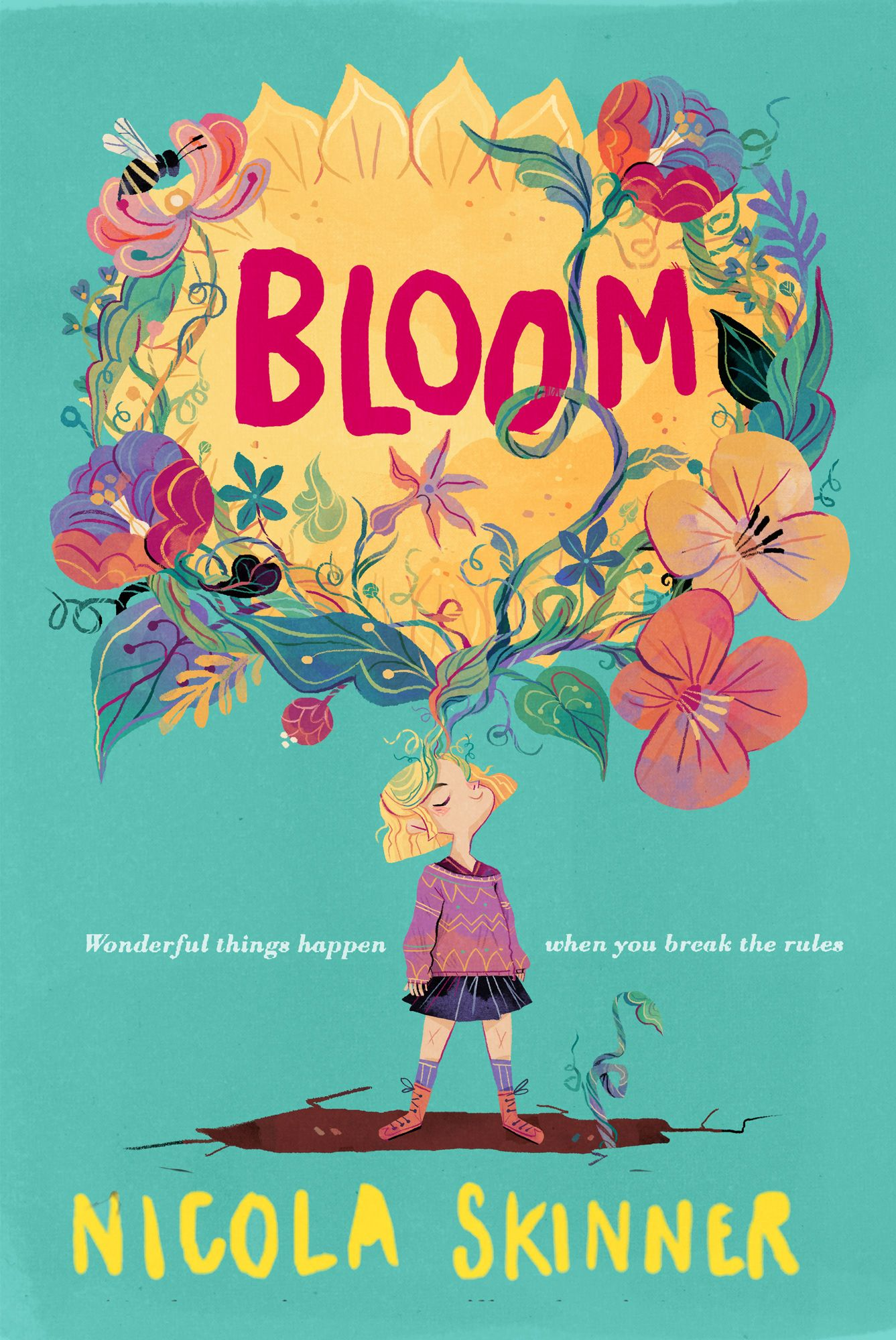 Check Out This Behance Project Bloom Harpecollins Https Www Behance Net Gal In 2020 Book Illustration Art Childrens Books Illustrations Book Cover Illustration