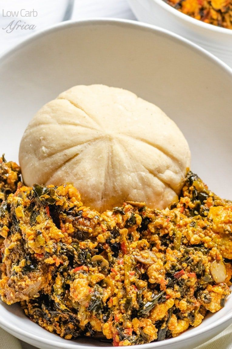 Egusi Soup Is A Popular Nigerian Soup Which Is Very Easy To Make And Healthy With Only Salad Recipes Low Carb Low Carb Side Dishes Healthy Dinner Recipes Easy