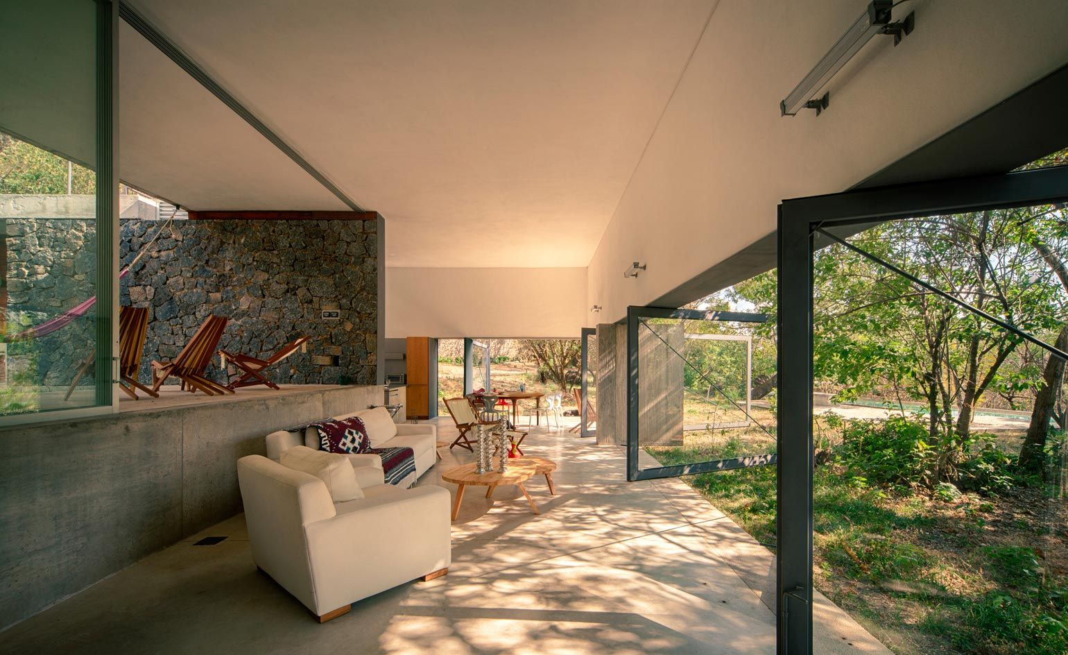 Casa Meztitla A Contemporary House In Rural Mexico Thats Open To The Elements