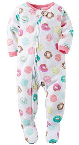 5093d8a1fd Carter s Toddler Girls  1 Pc Fleece Footed Sleeper Pajamas (18 Months