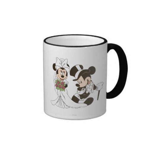 f8cf39fab411 Mickey Mouse   Minnie Wedding Mugs
