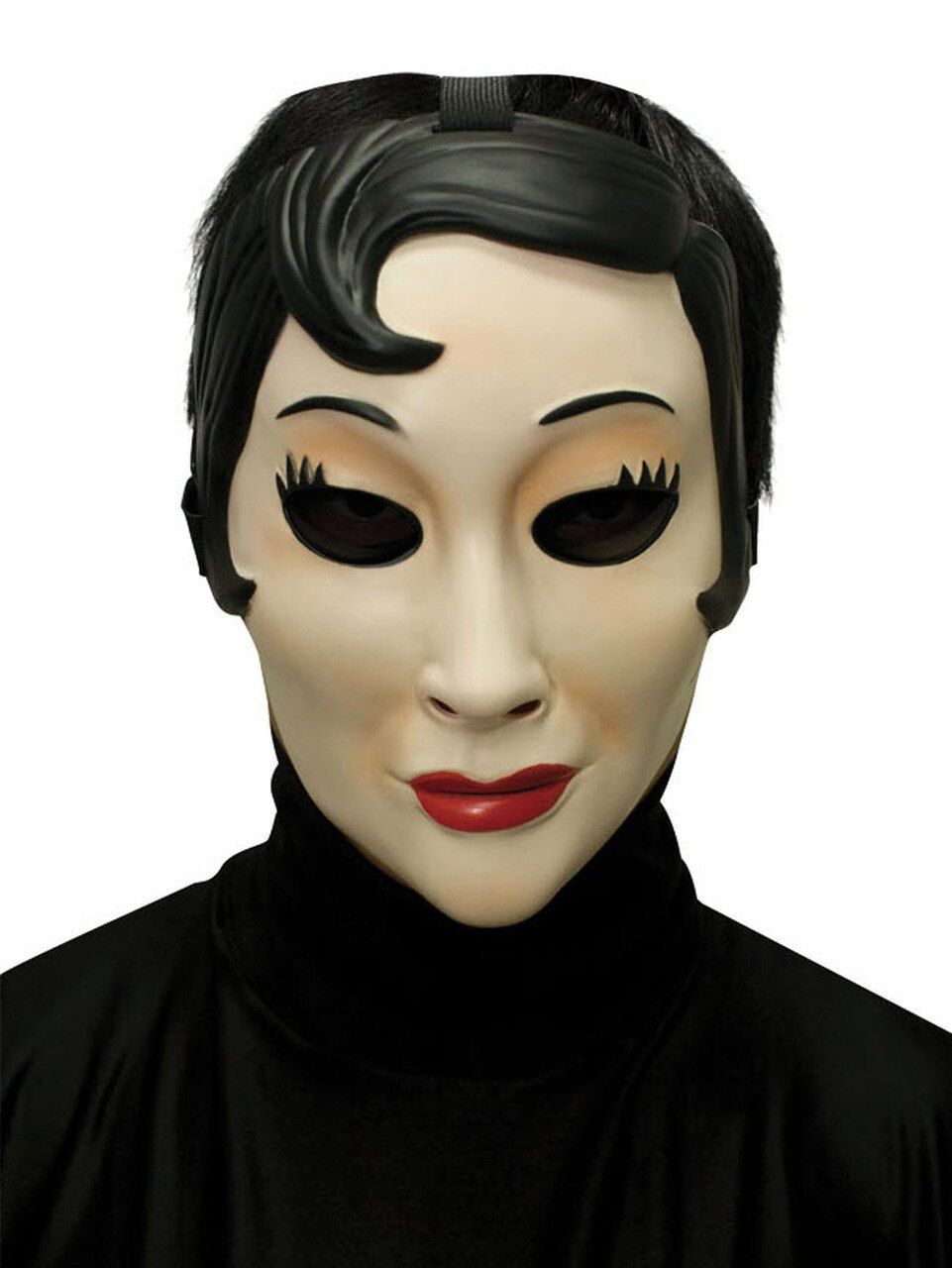 Emo girl mask emo sponsored girl mask ad