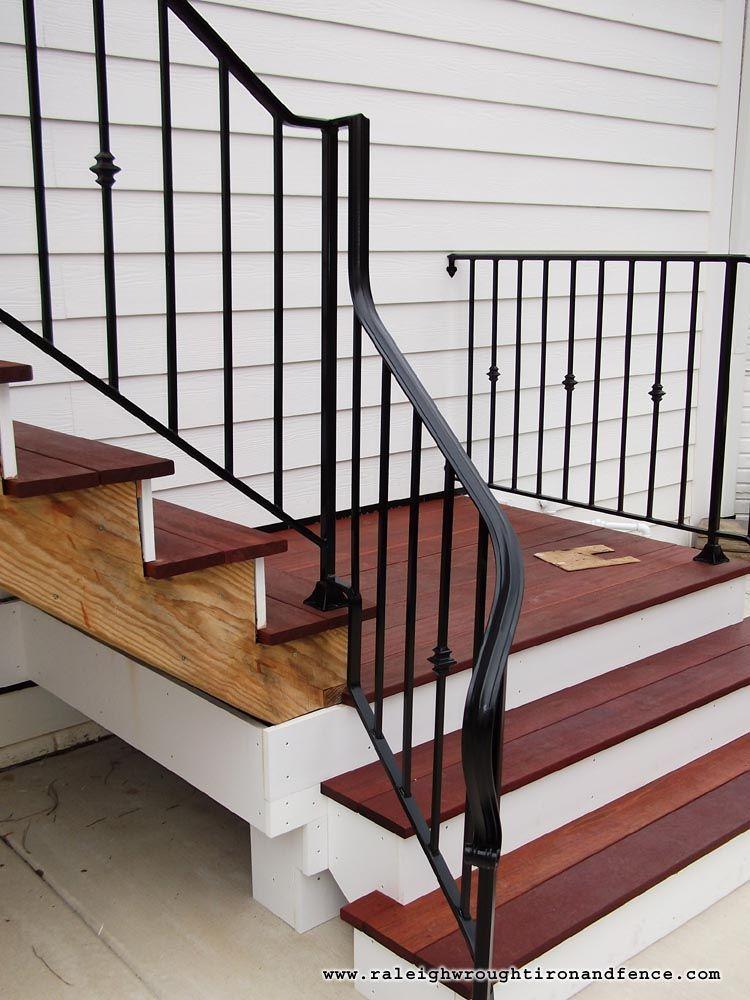 Washington DC Arlington Alexandria VA custom wrought iron railings Raleigh Wrought Iron Co.
