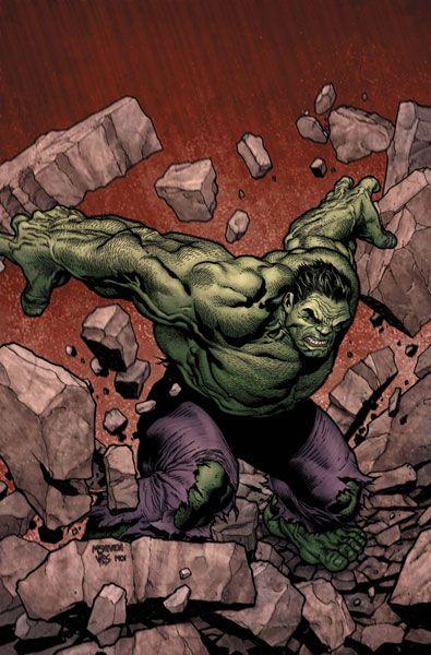 "#Hulk #Fan #Art. (Marvel Comics Presents Vol.2 #9 ""Vanguard Correct Hunches"" Cover) By: Steve McNevin. (NO RED MARVEL BANNER ON BOTTOM)"