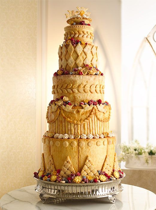 Four cakes for Kate Middleton and Prince William\'s wedding ...