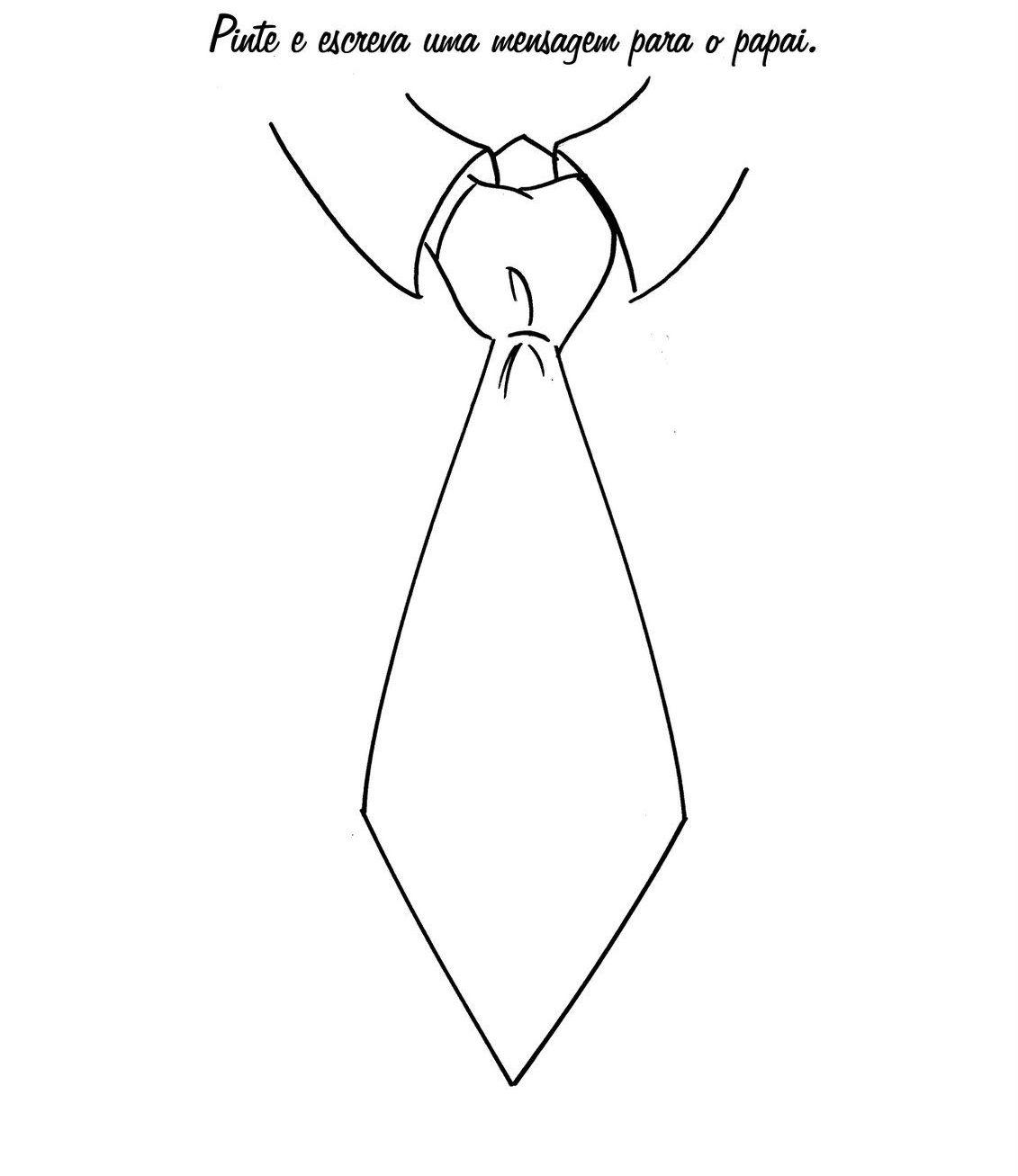 Que Tal Desenhar Uma Gravata Para O Dia Dos Pais | Dia dos pais atividades,  Dia dos pais, Cartão dia dos pais