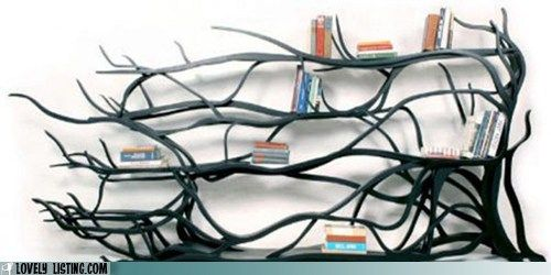 This Great Tree Branch Bookshelf Is Created Sebastian Errazuriz It Uses Plywood Carving To Create The Look And Feel Of A Real Brach