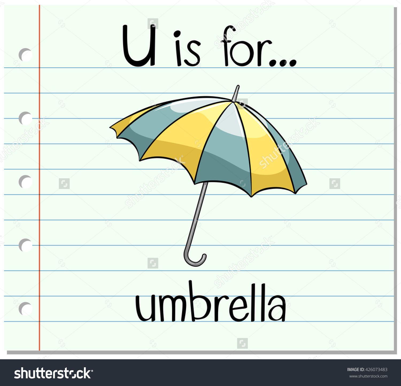 U Is For Umbrella Alphabet For Kids