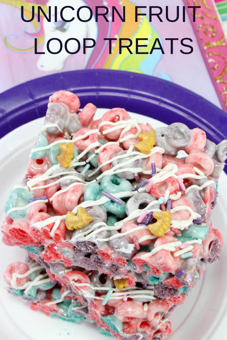 Unicorn Rice Krispies Treat Dessert -   17 best desserts For Kids ideas