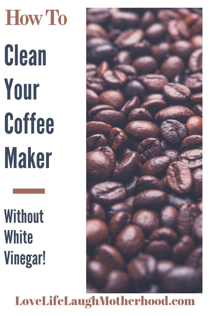 How to easily clean your coffee maker without vinegar
